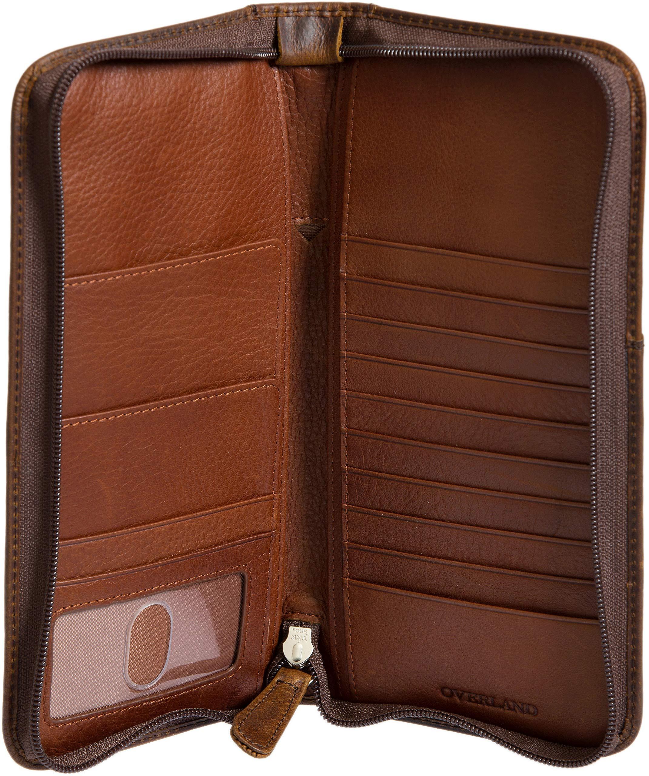 Argentine Leather Passport Wallet by Overland Sheepskin Co