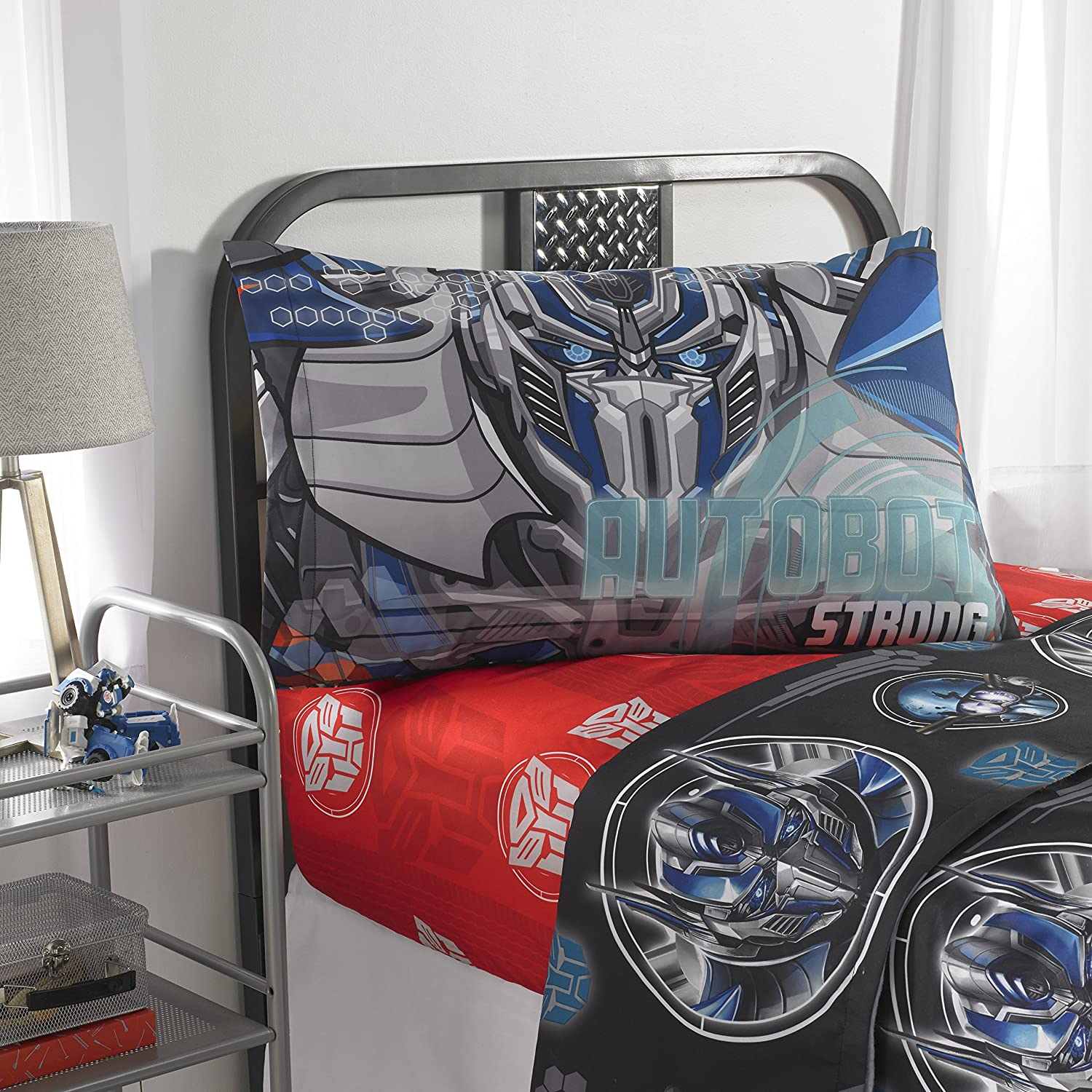 Transformers 5 Microfiber Bedding Sheet Set - Twin Jay Franco & Sons Inc.