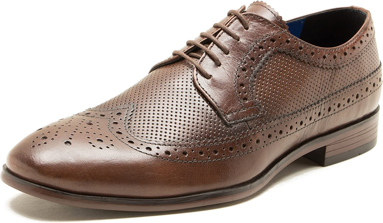 Red Tape Nappa Leather Mens Lace Up