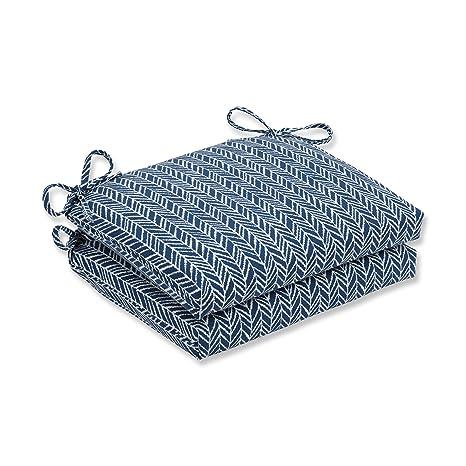 Pillow Cojín Cuadrado para Asiento (45,7 cm), Color Azul de ...
