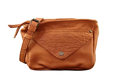 à bas prix style distinctif prix favorable Paul Marius LE GAVROCHE Sable petit sac bandoulière en cuir de buffle  pleine fleur style Vintage