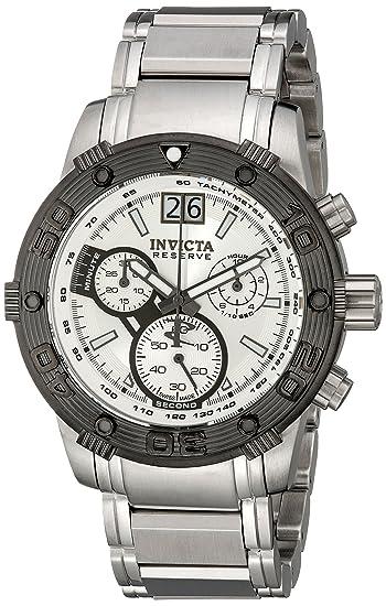 Invicta 10590 - Reloj de pulsera hombre, plata