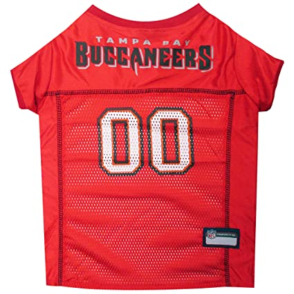 e4a7227a Amazon.com : NFL TAMPA BAY BUCCANEERS DOG Jersey, Small : Pet ...