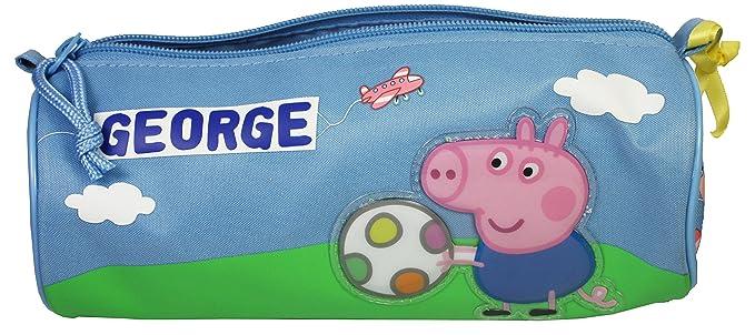 Peppa Pig: GEORGE y Mr dinosaurio estuche con sombrero ...