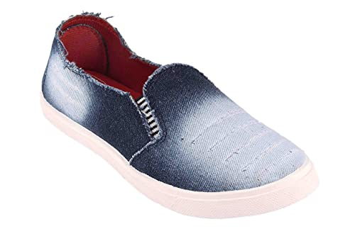 f6cc9d14938 Women s Best Loafers Running Denim Blue Casual Shoes  Buy Online at Low  Prices in India - Amazon.in