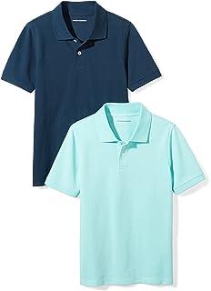 b604ed4e89dd3 Amazon.com: Dickies Boys' Short Sleeve Pique Polo: Clothing