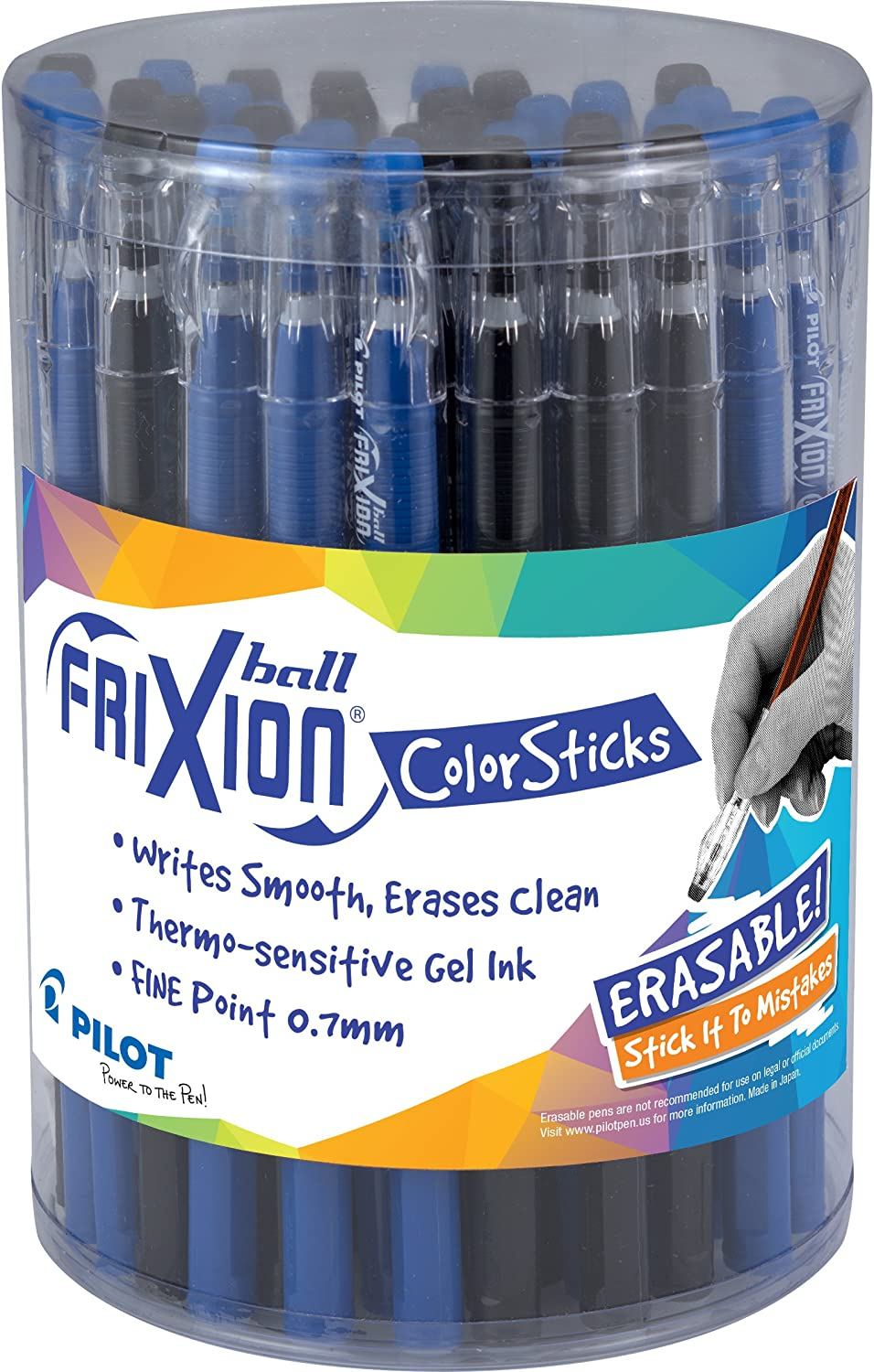 12 Replacement Mines Blue Pilot Frixion Ball Rollerball Pen