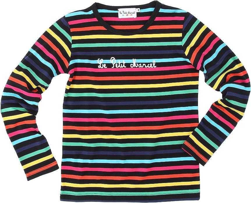 269887a8f5f0d Little Marcel Massilote - T-Shirt - Rayé - Coton - Mixte Enfant -  Multicolore