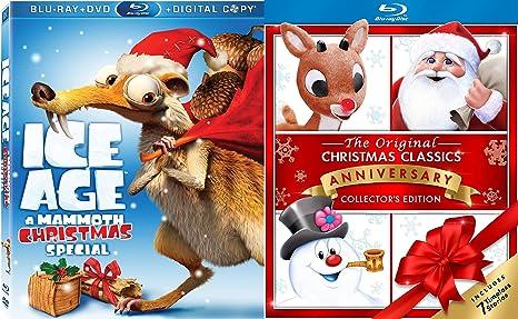 original christmas classics rudolph frosty the snowman blu ray ice age mammoth christmas - Ice Age Mammoth Christmas