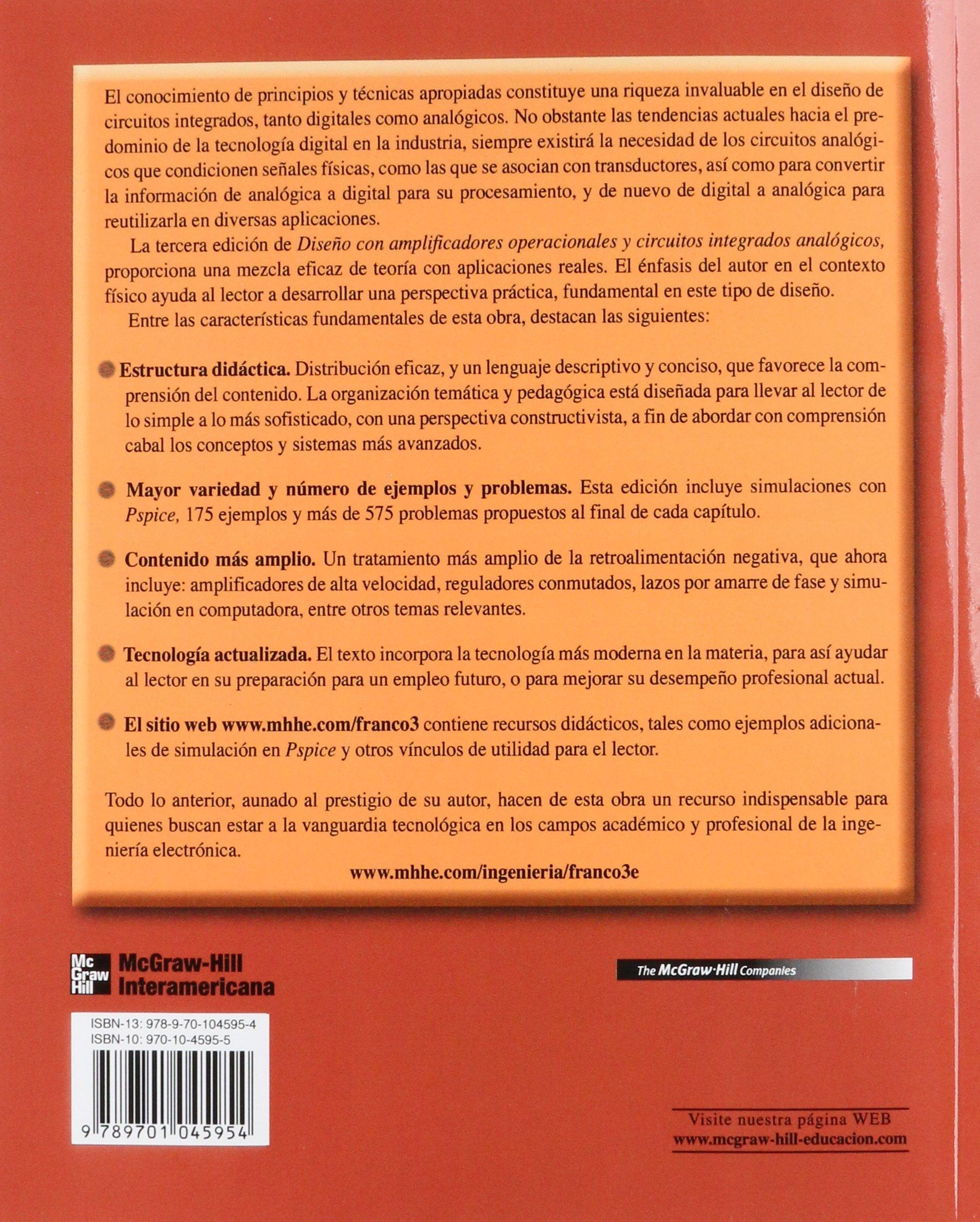 DISENO CON AMPLIFICADORES OPERACIONALES: Varios: 9789701045954: Amazon.com: Books