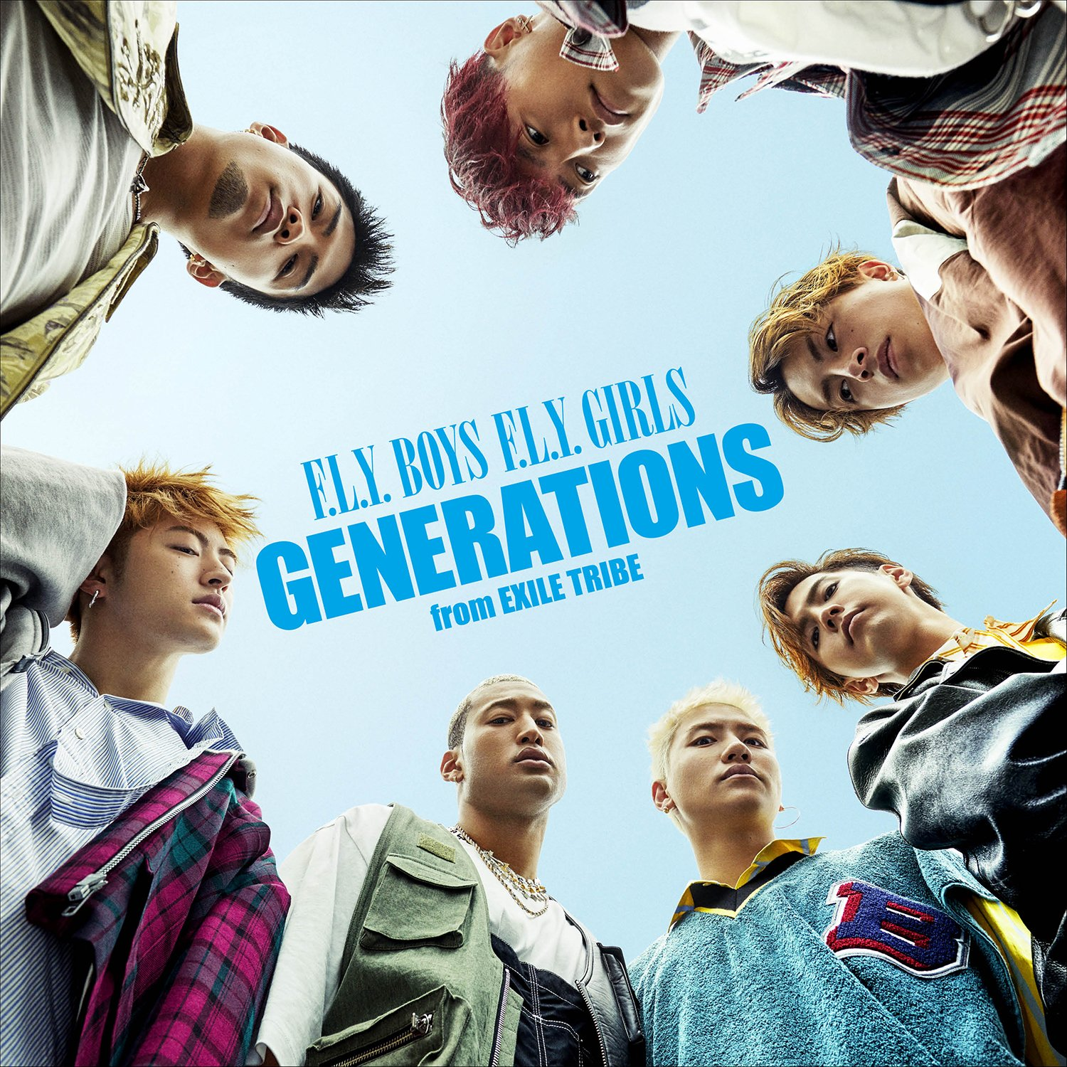 F.L.Y. BOYS F.L.Y. GIRLS(CD+DVD)(オリジナルポスター/A3サイズ)GENERATIONS from EXILE TRIBE