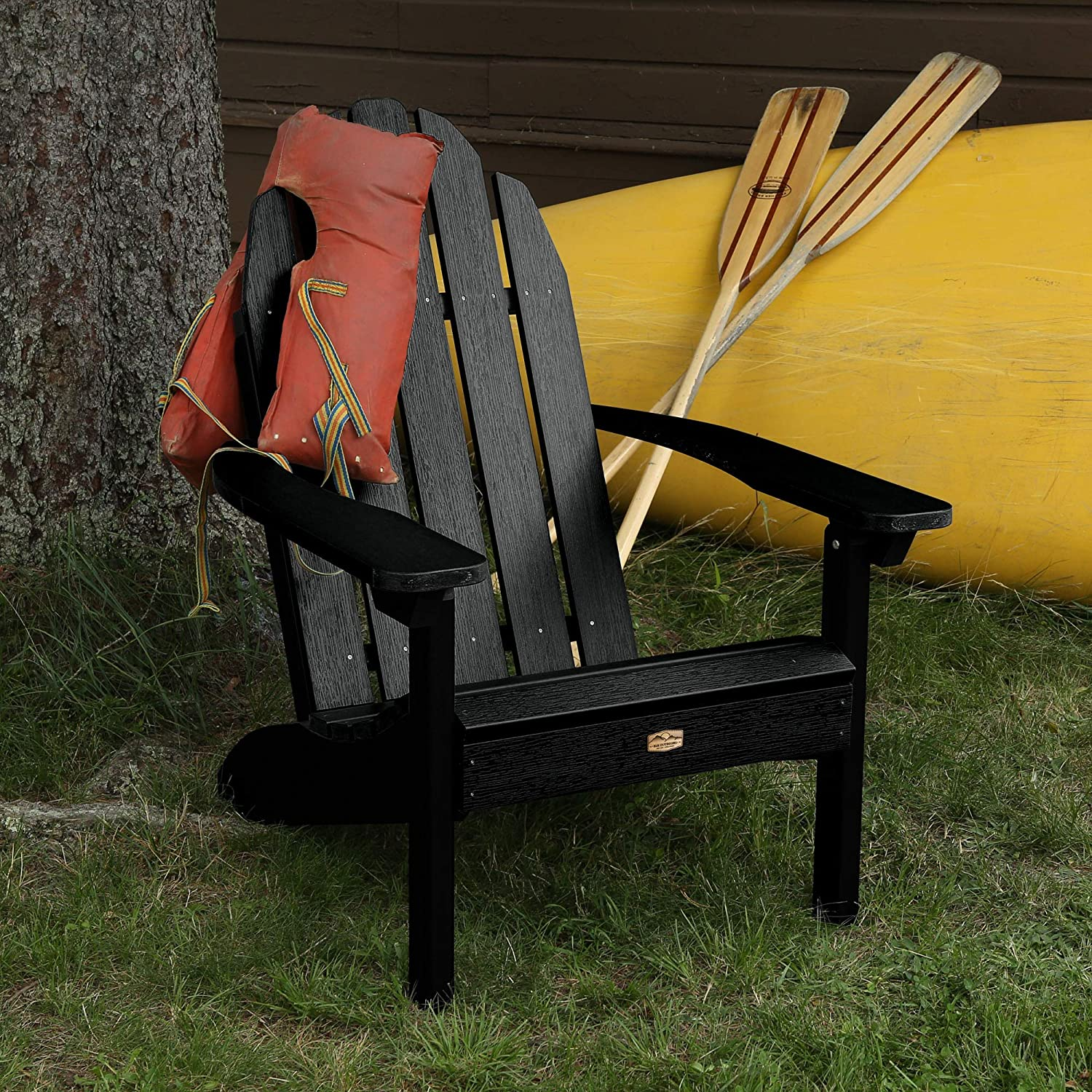 Elk Outdoors EO-CLAS1-ABY Essential Adirondack Chair, Abyss