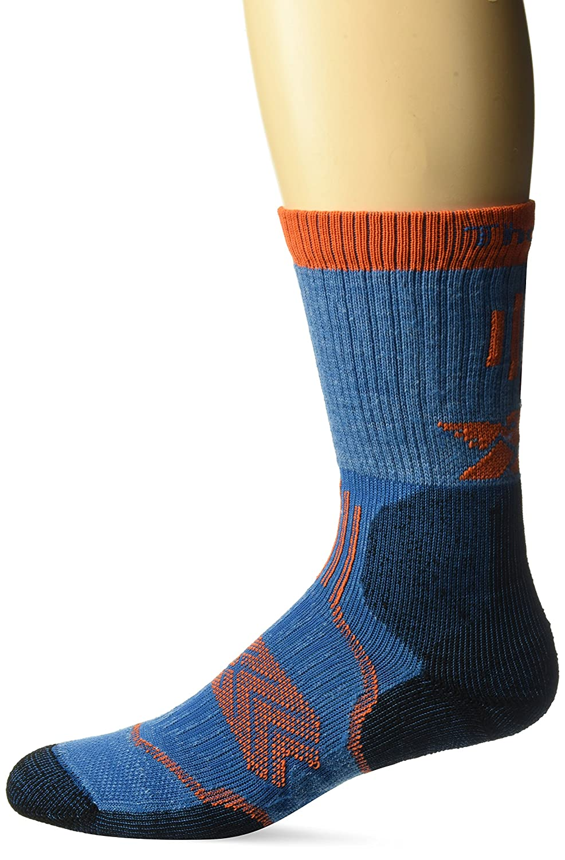 Thorlo SOCKSHOSIERY ユニセックスアダルト B072XTH84K 11-Medium (Women's Shoe Size 6.5 10.0, Men's Shoe Size 5.5 8.5)|ブルー(Glacier Blue) ブルー(Glacier Blue) 11-Medium (Women's Shoe Size 6.5 10.0, Men's Shoe Size 5.5 8.5)
