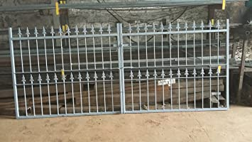 Wrought Iron Driveway Gates To Fit 3m Opening Amazoncouk