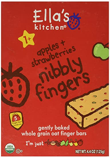ellas kitchen strawberries and apples nibbly fingers - Ellas Kitchen