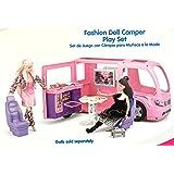 """Kid Connection Doll R/V Camper Motor Home - Fits 12"""" Barbie Dolls"""