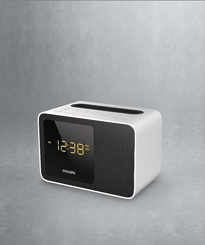 Philips AJT5300W/12 - Radio (Portátil, Digital, FM, 87,5-108 MHz, 2,7 W, 50 dB): Amazon.es: Electrónica