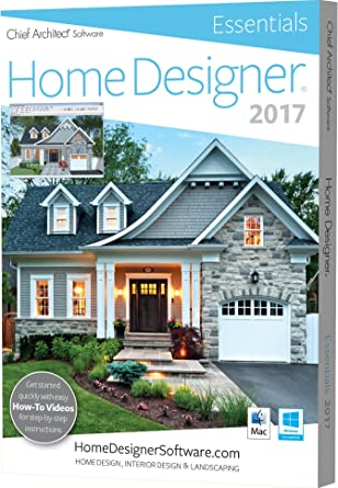 Chief Architect Home Designer Essentials 2017: PC-Mac: Software ...