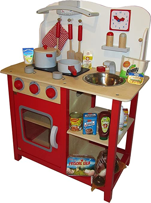 Tanner 0342.0 Cucina per bambini in legno Multicolore: Amazon.it ...