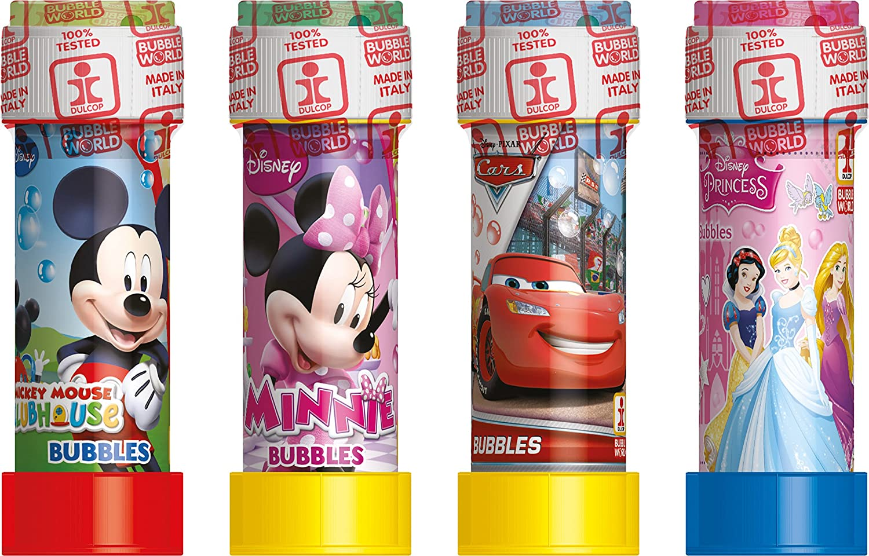 /003593/ /60/ml Unbekannt dulcop/ /Minnie Mouse/ /Party Pack 12/Tubos de Burbujas de Aire con Saber/