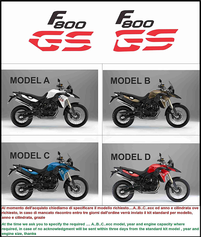 8 x BMW F800GS Wheel Rim Decals Stickers f 800 gs