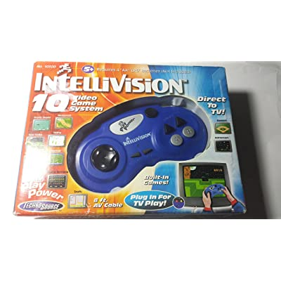 Intellivision Video Game System 2nd Edition Plug N Play: Toys & Games
