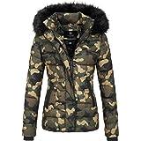 Marikoo UNIQUE Damen Jacke Mantel Steppjacke Parka Winter warm XS-XL 7-Farben