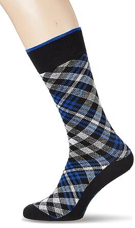 Burlington Herren Socken Cadogan, Mehrfarbig (Black 3000), 40/46