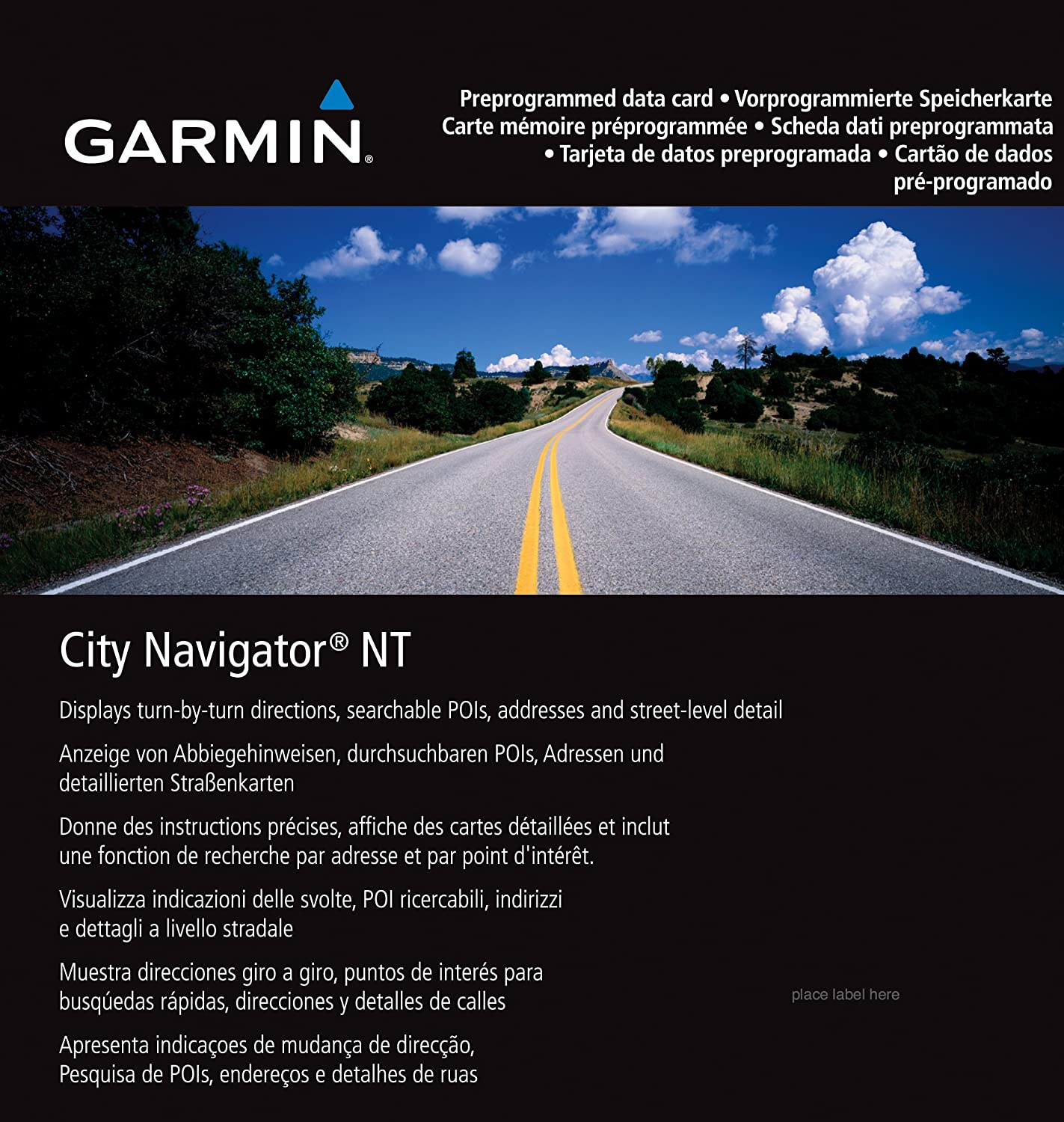 Garmin City Navigator for Detailed Maps of Major Metropolitan Areas in Europe (microSD/SD Card) 010-10680-50 GPS Devices & Accessories