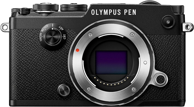 Olympus Pen-F - Cámara Evil con estabilizador, Color Negro