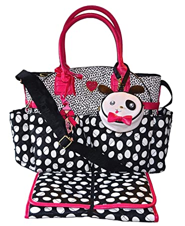 Amazon.com: Betsey Johnson 3pc Downtown – Bolso cambiador ...