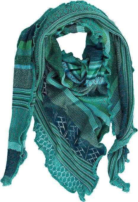 Invero Kyra /Écharpe triangulaire en laine m/érinos 100 /% laine