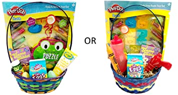 Amazon for toddler young child boy or girl toddlers for toddler young child boy or girl toddlers filled easter egg basket negle Images