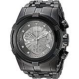 Invicta Men's Bolt 53mm Stainless Steel Chronograph Quartz Watch, Black (Model: 23915)