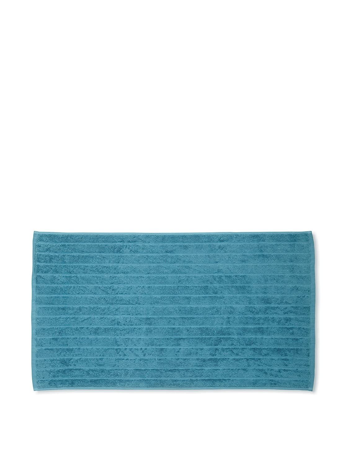 Christy 100% Cotton Luxury 1000GSM Large Bath Mat Elegant Textured Bathroom Accessories 50 x 90cm (Icicle Blue)