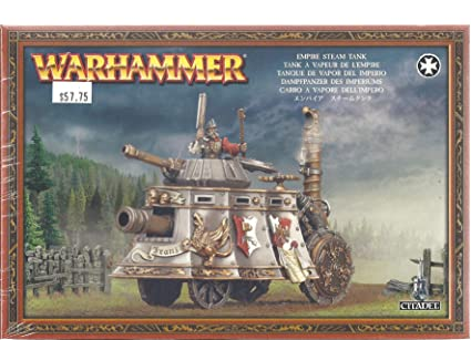 Age of Sigmar Games Workshop Steam Tank Plastic