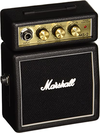 Marshall MS-2 - Amplificador para guitarra (2W, 6.3 mm), color ...