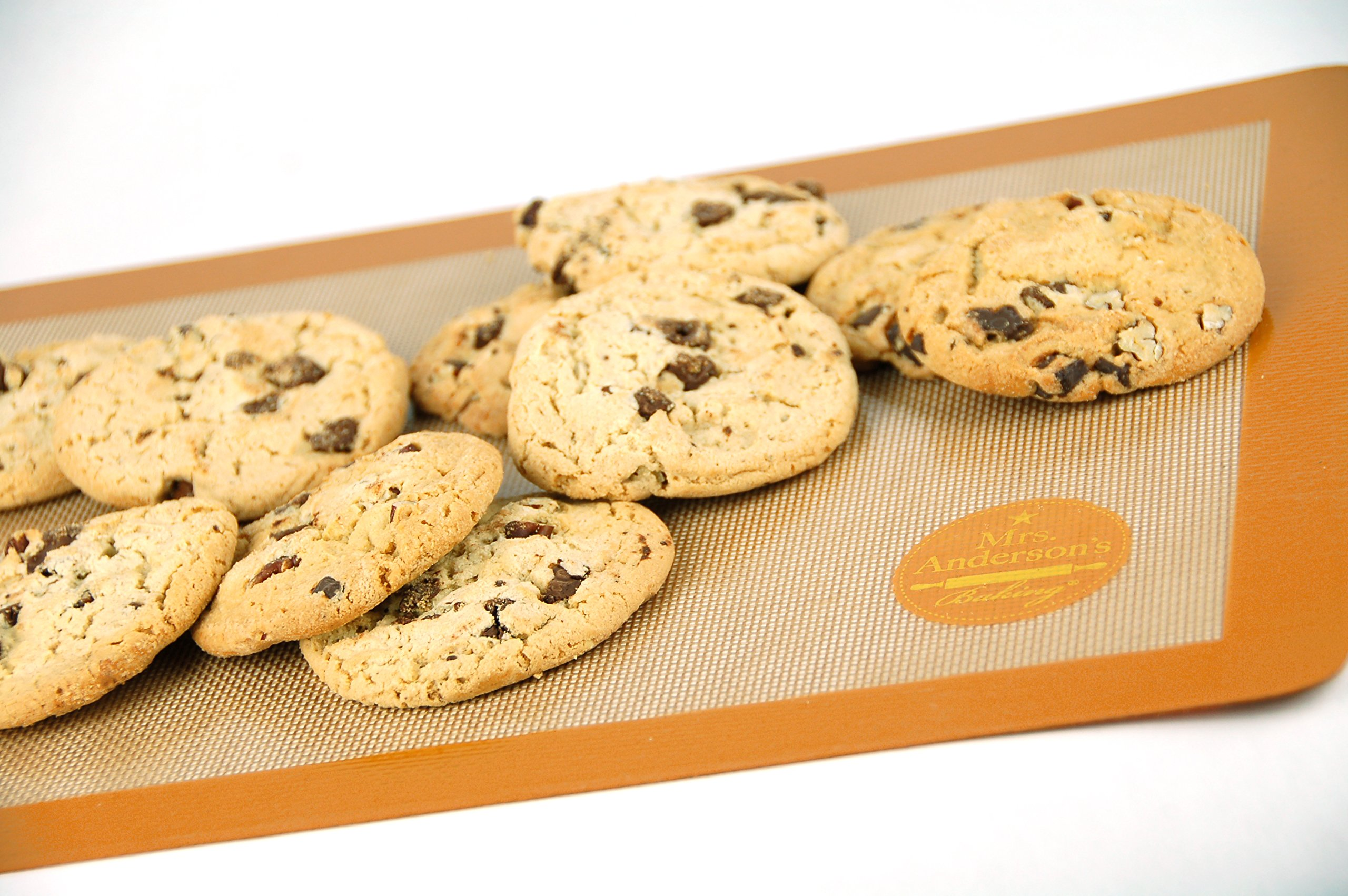 Mrs. Anderson's Baking Non-Stick Silicone Half-Size Baking Mat, 11.625-Inch x 16.5-Inch, Set of 2 by Mrs. Anderson's Baking (Image #3)