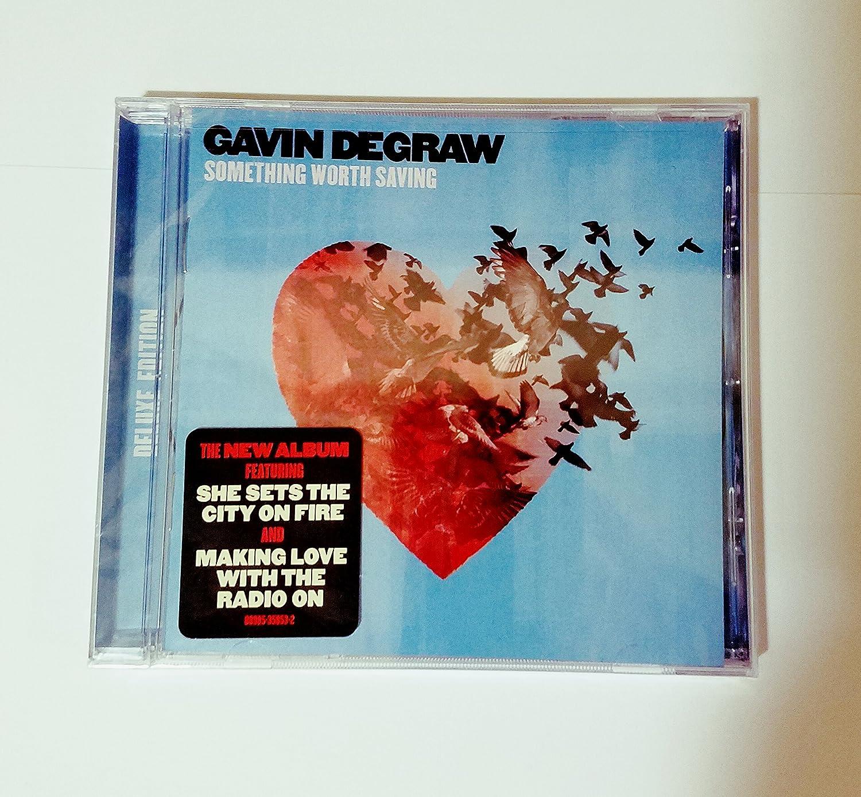 Gavin degraw making love with the radio on review Gavin Degraw Something Worth Saving Amazon Com Music