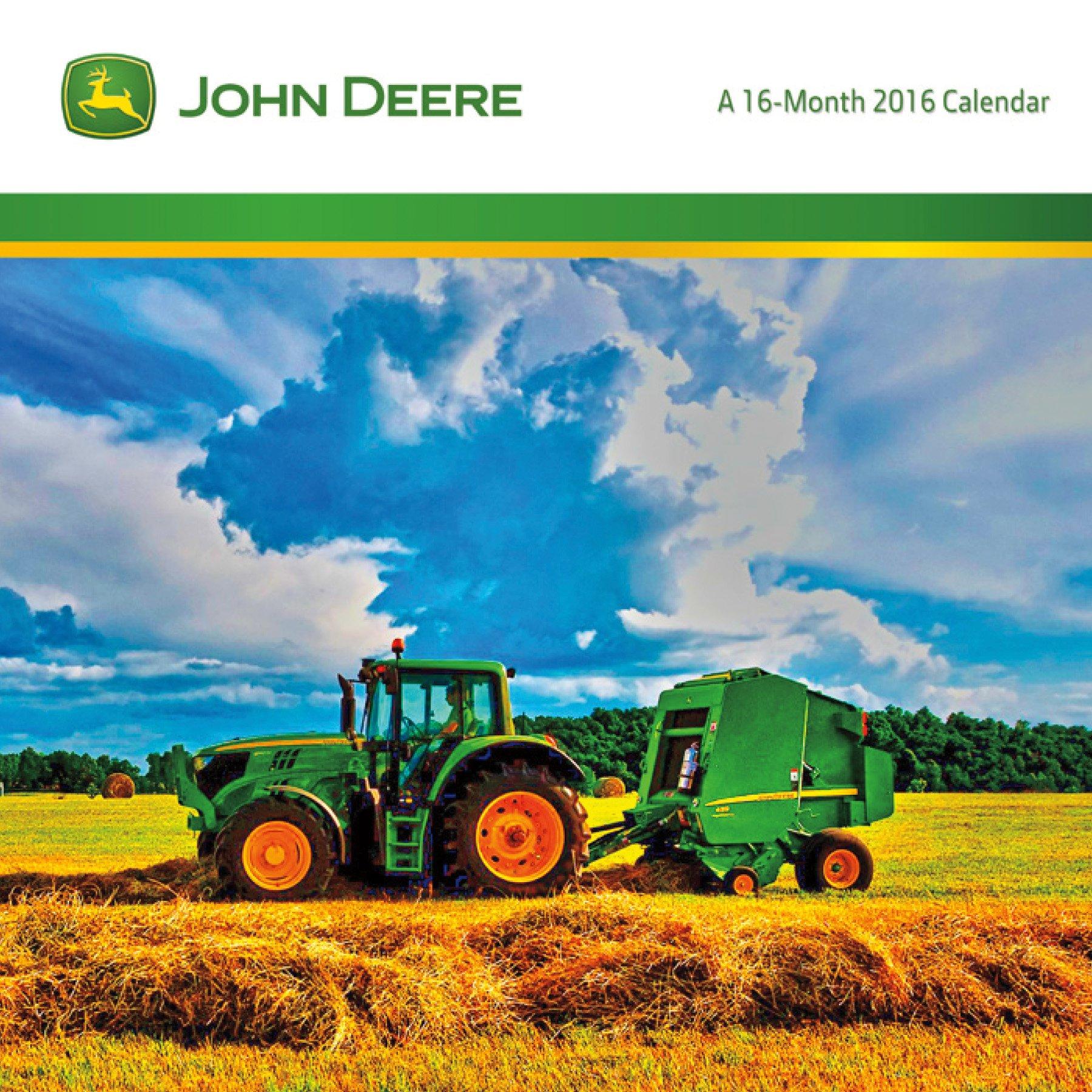 John Deere 2016 Mini Calendar pdf epub