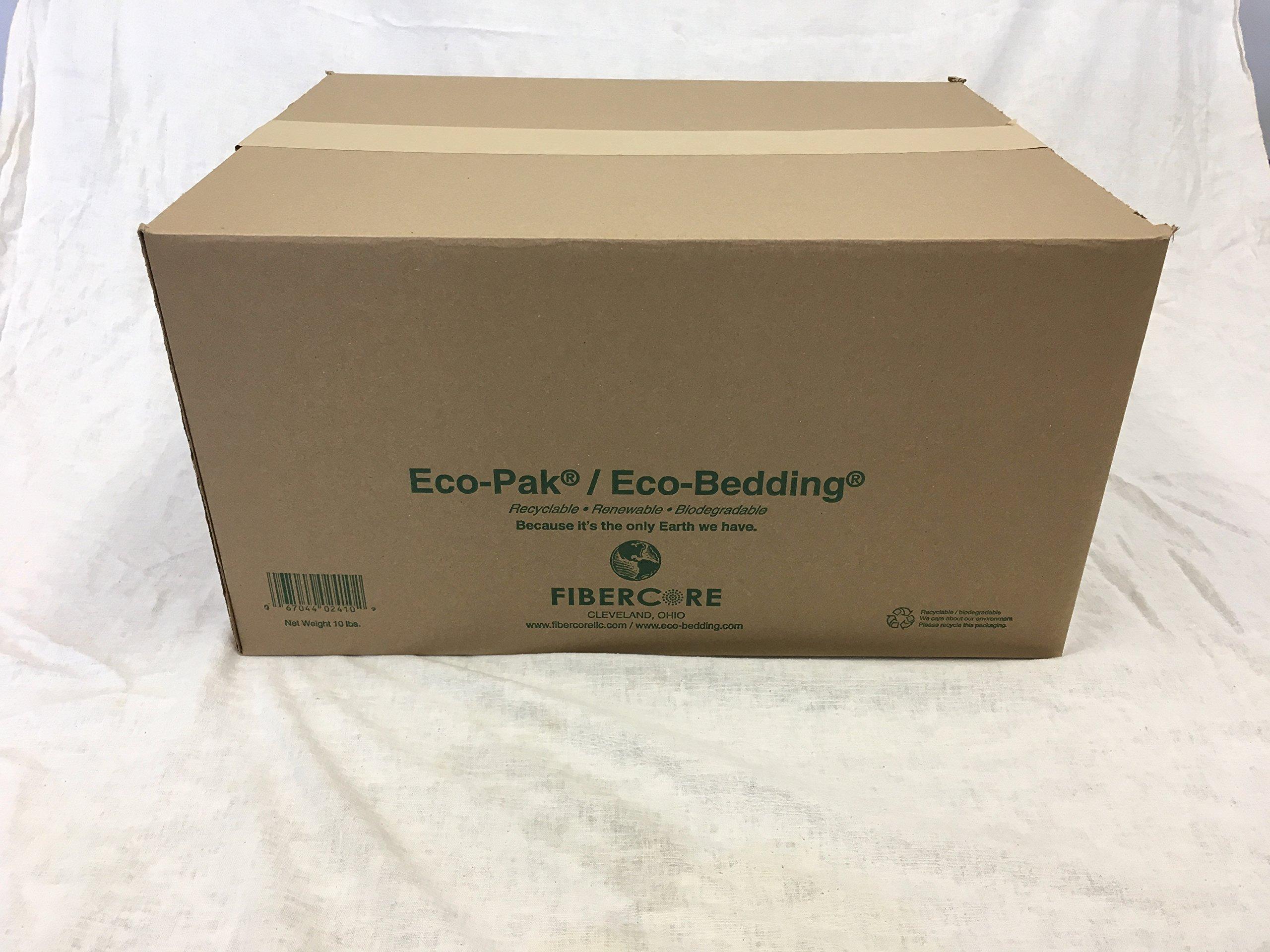 FiberCore Box Eco-Bedding, Brown, 10 lb by FiberCore
