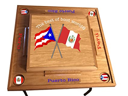 Amazon Com Puerto Rico Peru Domino Table Everything Else
