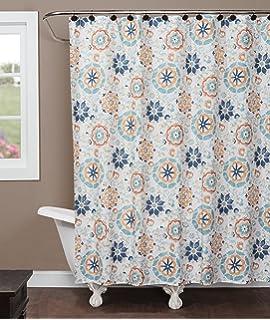 Saturday Knight Renee Fabric Shower Curtain