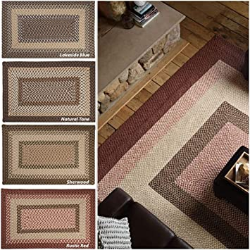 Amazon Com Colonial Mills Boulder Cabin Braided Rug 8 X 10
