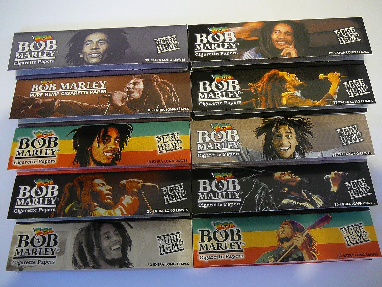amazon com 10 bob marley king rolling paper 110mm pure hemp