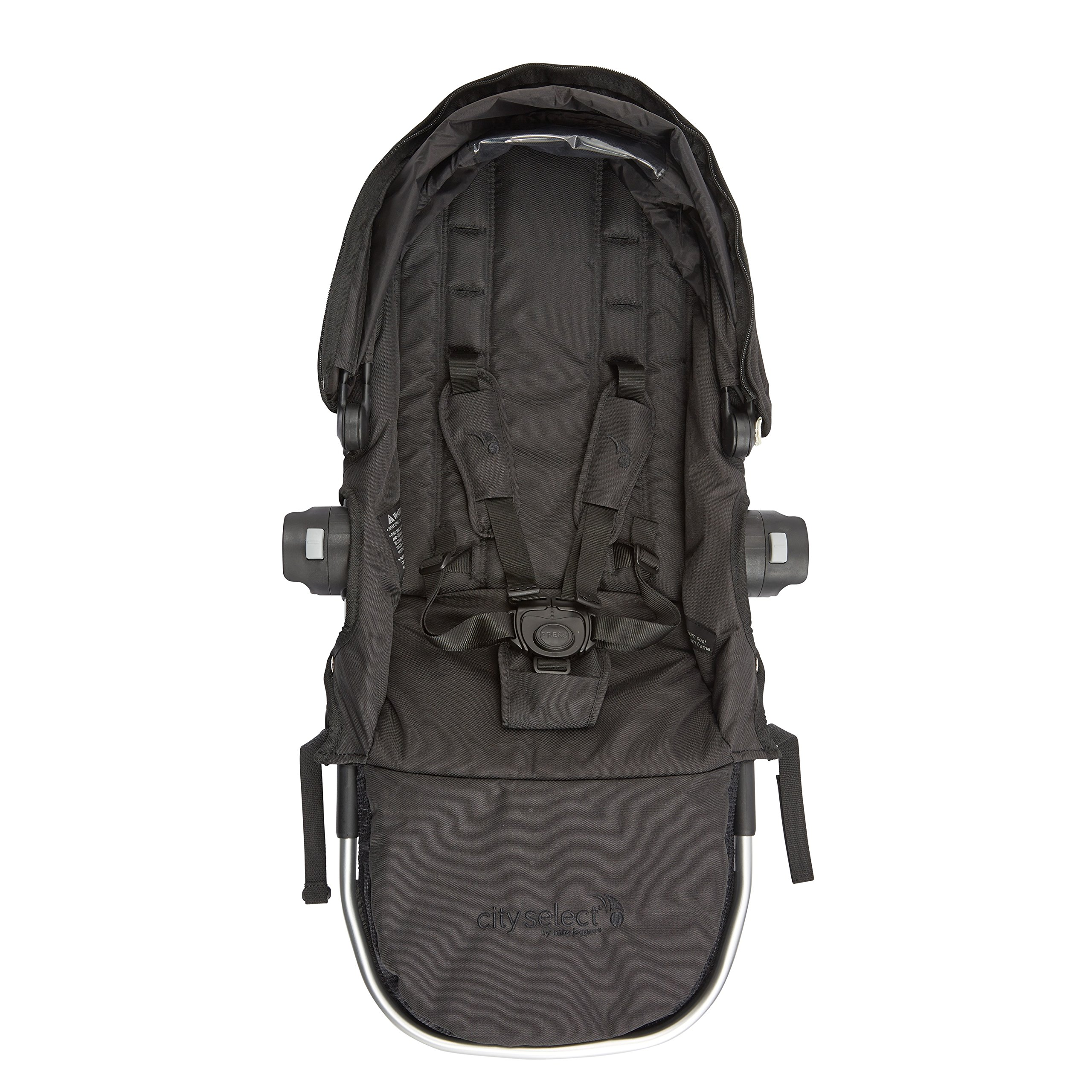 Baby Jogger City Select Second Seat Kit with Silver Frame, Onyx by Baby Jogger (Image #3)