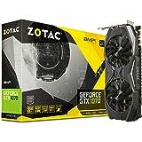 Zotac GeForce GTX 1070 AMP Grafikkarte (NVIDIA GTX 1070, 8GB GDDR5, 256bit, Base-Takt 1607 MHz / Boost-Takt 1797 MHz, 8 GHz)