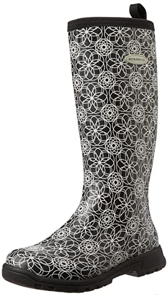 Muck Boots Breezy Tall Print, Women's Rain Boots: Amazon.co.uk ...