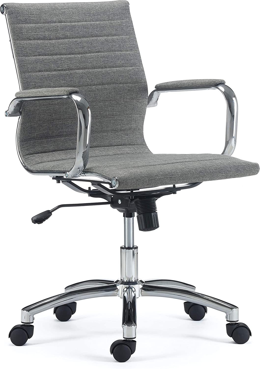 Staples 24328567 Everell Fabric Managers Chair Grey