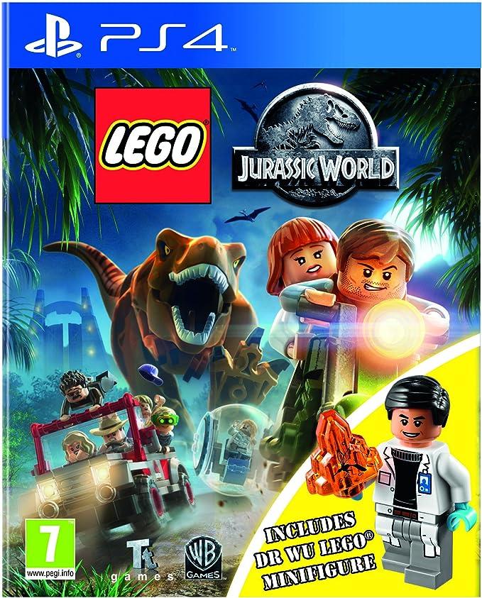 Lego Jurassic World Inc Dr Wu Mini Figure [Importación Inglesa ...